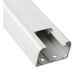 Кабель-канал DLP 50x80 с гибкой крышкой 65мм белый