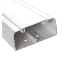Кабель-канал DLP 35x105 с гибкой крышкой 85мм белый