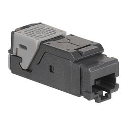 Универсальная вставка 6хRJ45 UTP кат.5Е (комплект 6 коннекторов)