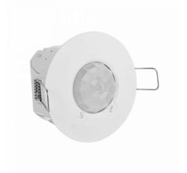 Датчик движения потолочный 360°, 1000Вт для ламп накал. и галог, 250Вт флуорисц. и LED, блистер