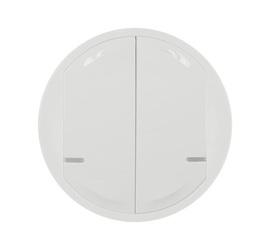 Celiane NETATMO - Лицевая панель для проводного/беспров. 2-кл. выкл.  белый