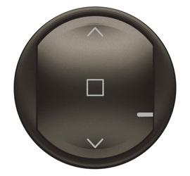 Celiane NETATMO - Лицевая панель для проводного/беспров. выкл. рольставней графит