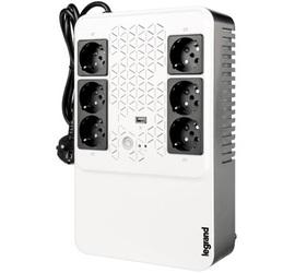 Однофазный ИБП Keor multiplug линейно-интерактивный 800ВА (480Вт) 4+2 розетки Schuko нем.стд.
